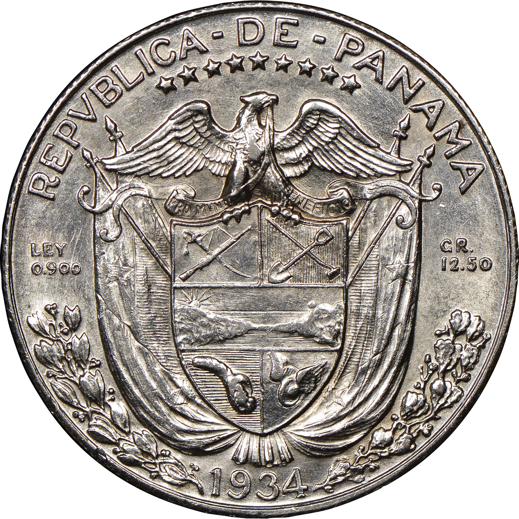 Panama 1 2 Balboa Km 12 1 Prices Amp Values Ngc