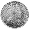 1903-1908 Newfoundland 5 Cents obverse