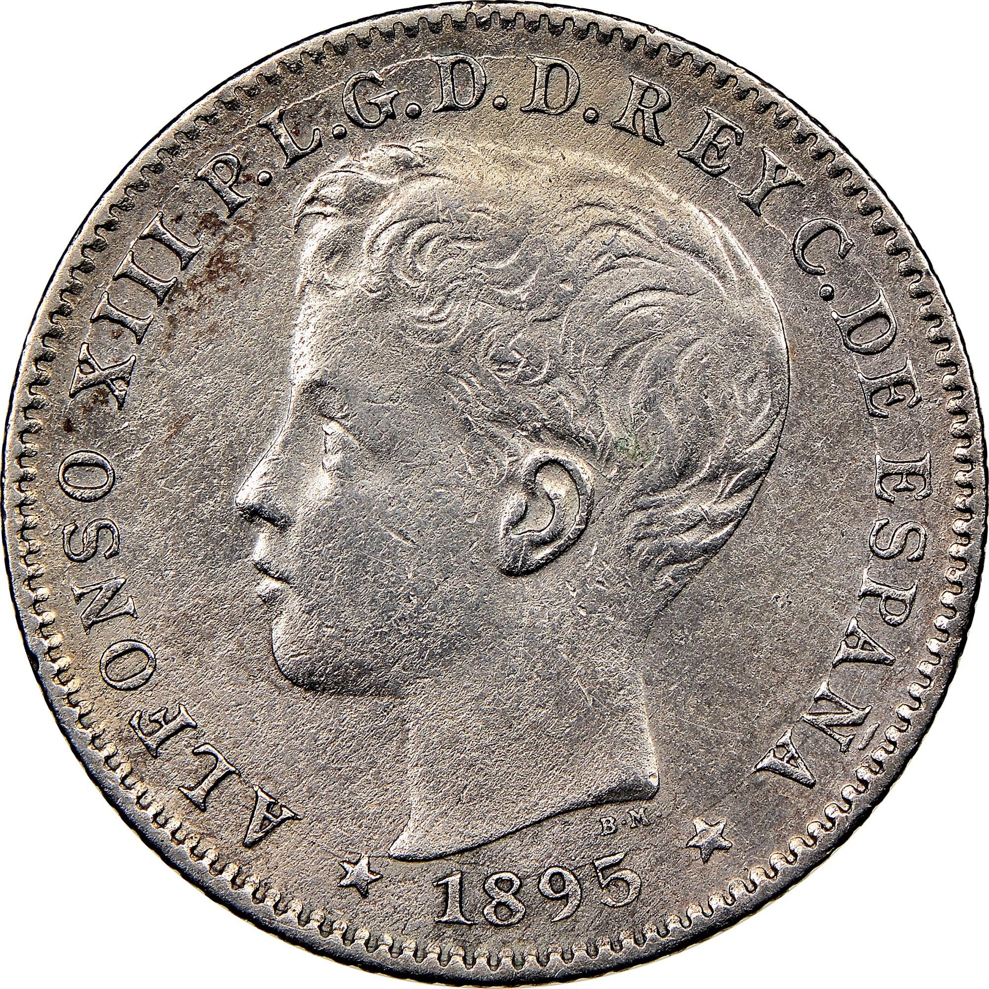 Puerto Rico 20 Centavos obverse