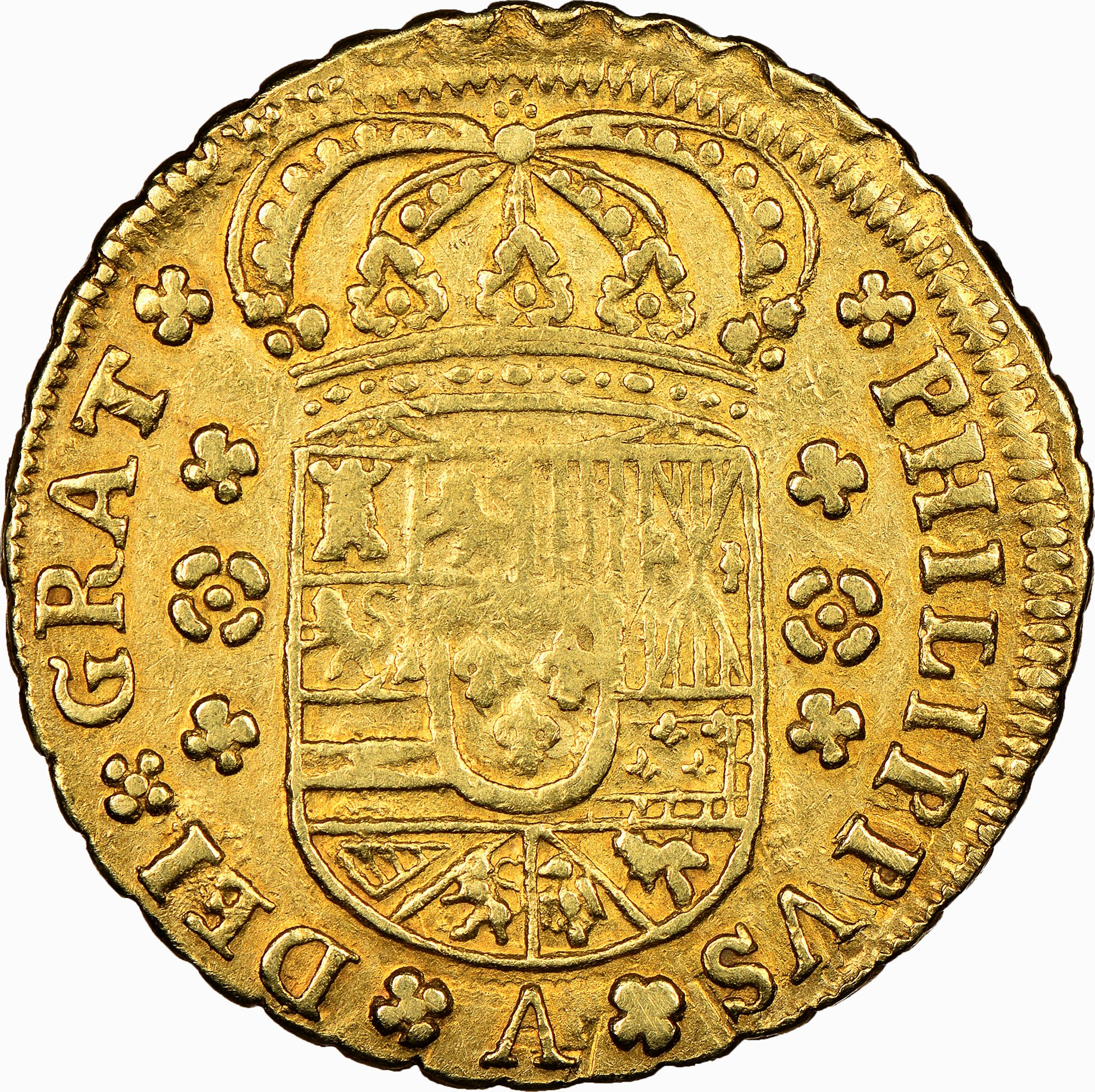 foto de Spain 4 Escudos KM 257 Prices & Values   NGC