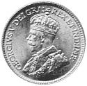 1912-1929 Newfoundland 5 Cents obverse