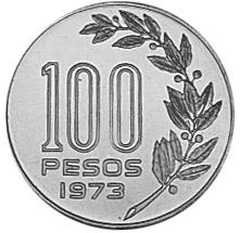 Uruguay 100 Pesos reverse