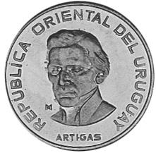 Uruguay 100 Pesos obverse