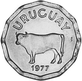 Uruguay 5 Centesimos obverse