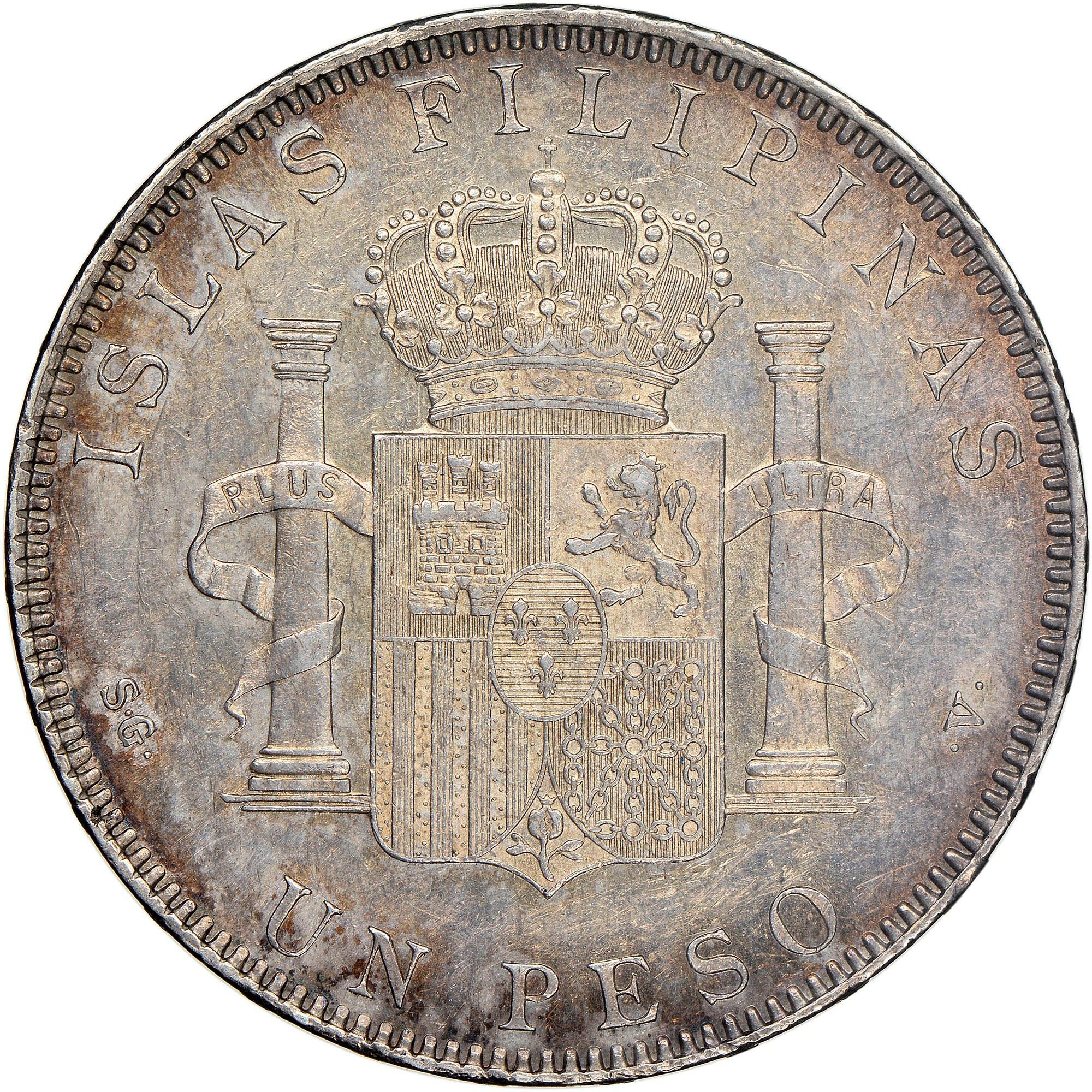 Philippines Peso reverse