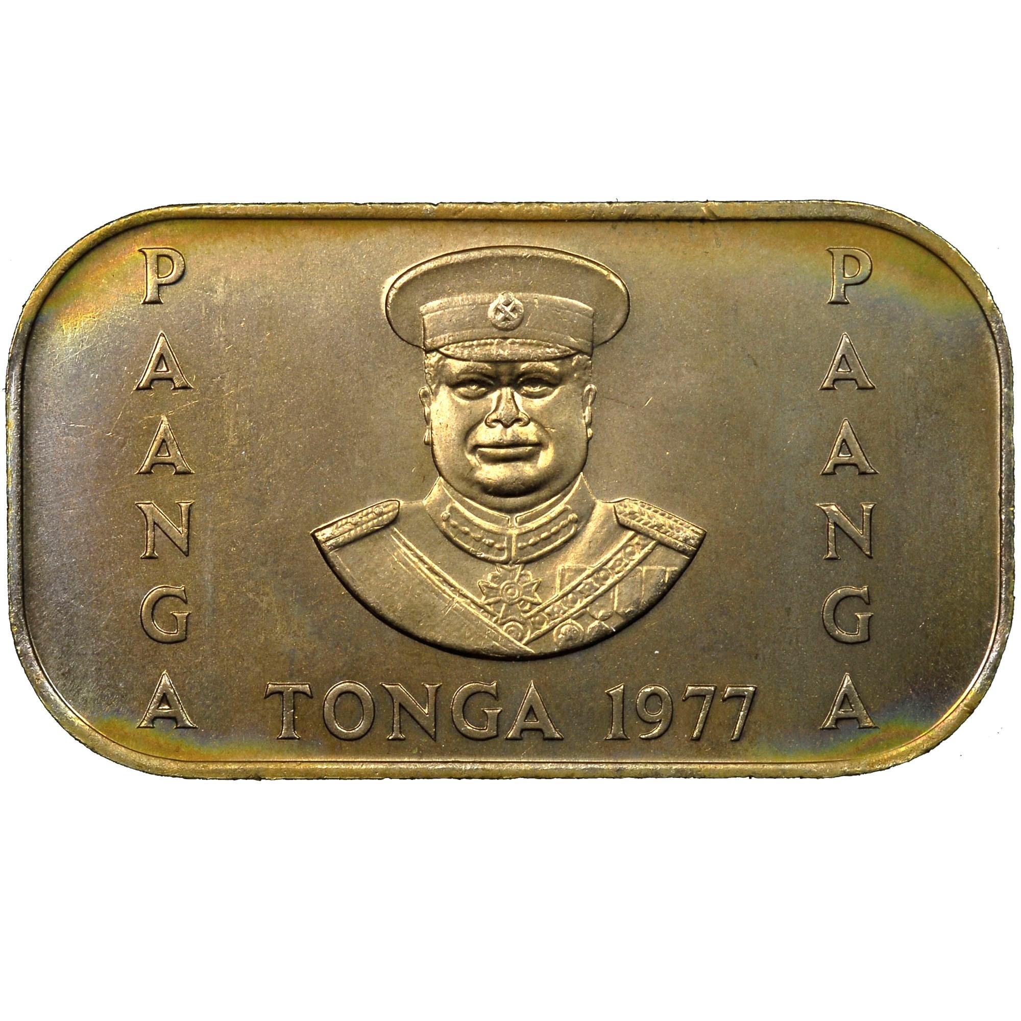 Tonga Pa'anga obverse