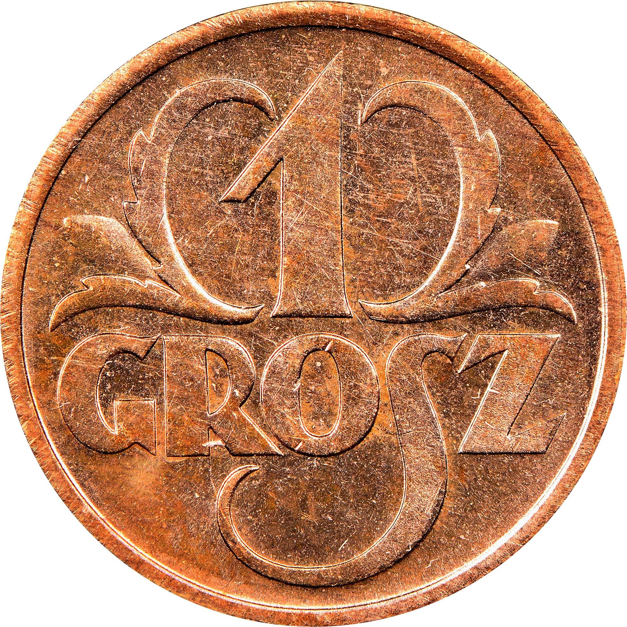 Poland Grosz reverse