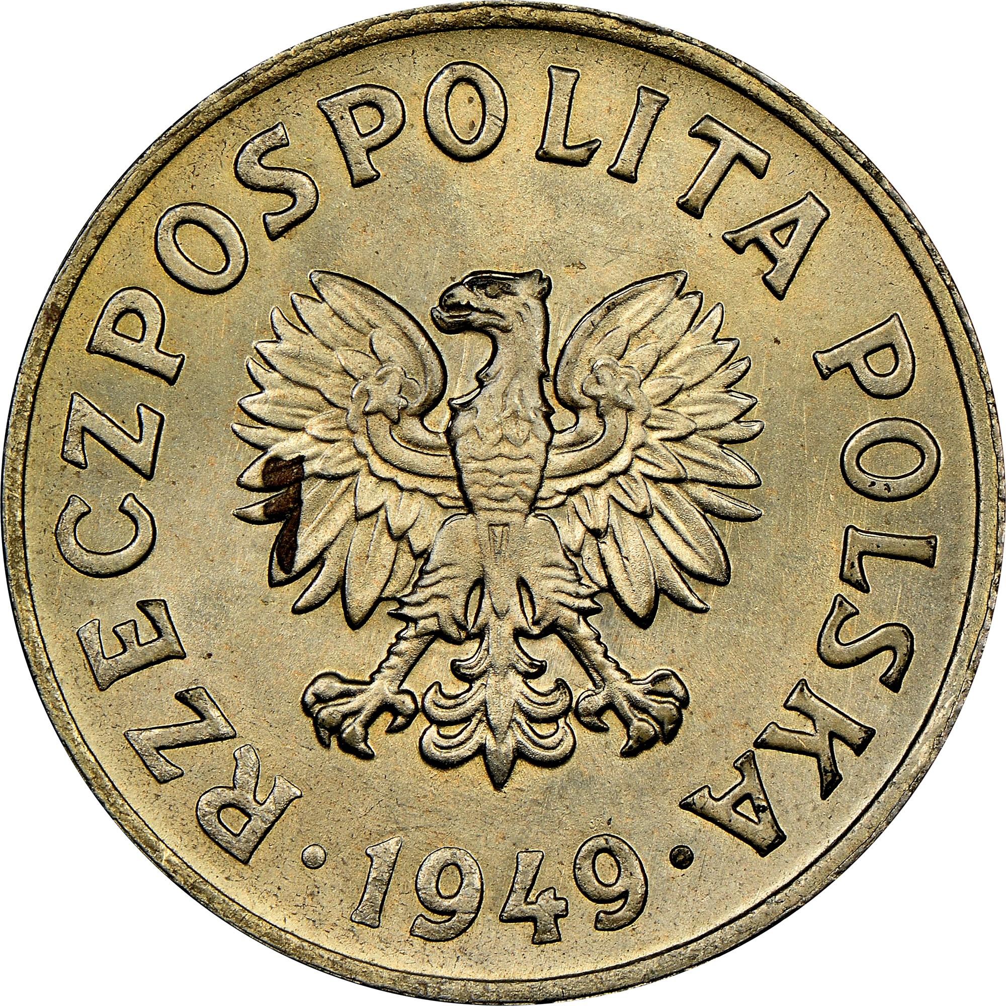 Poland 50 Groszy obverse