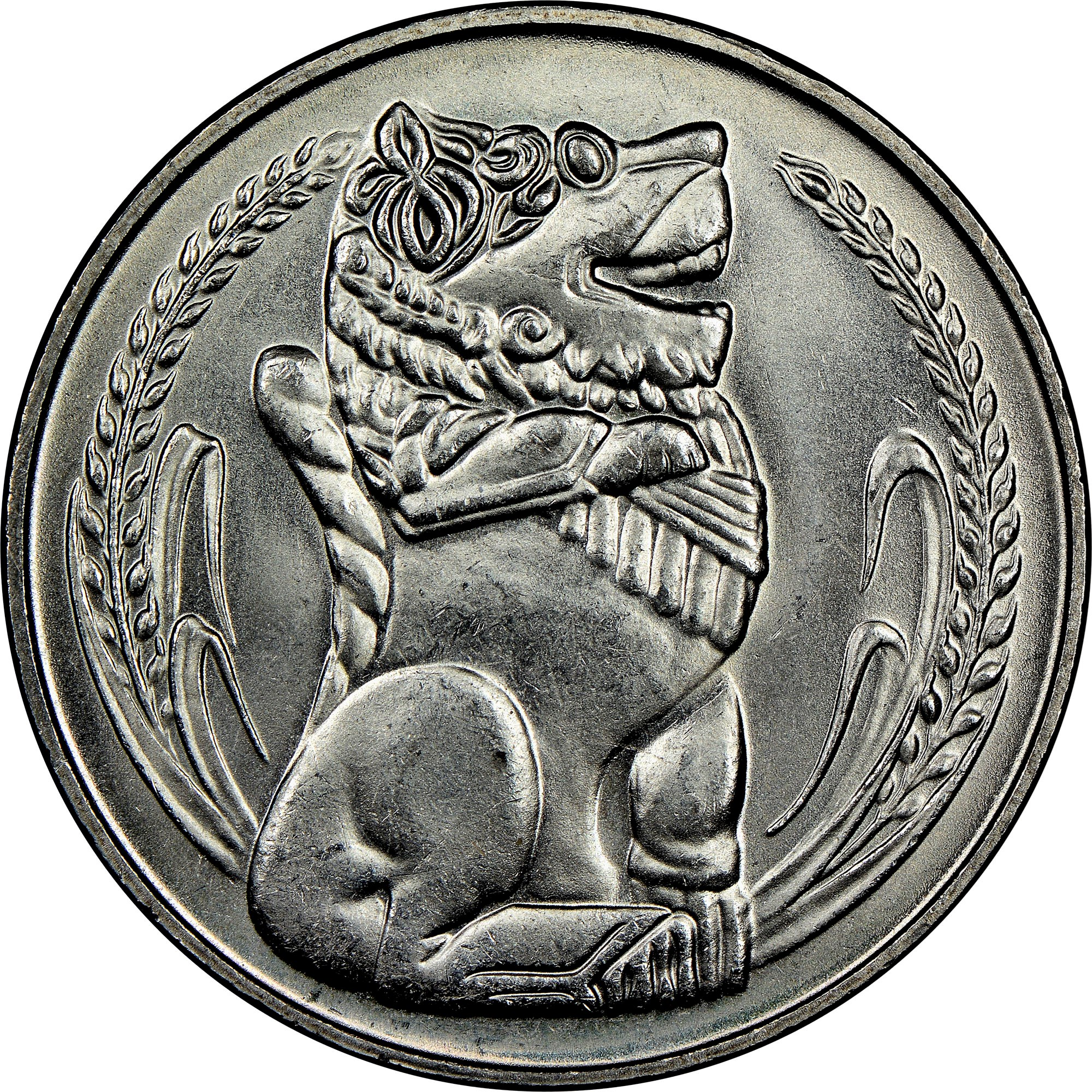 Singapore Dollar reverse