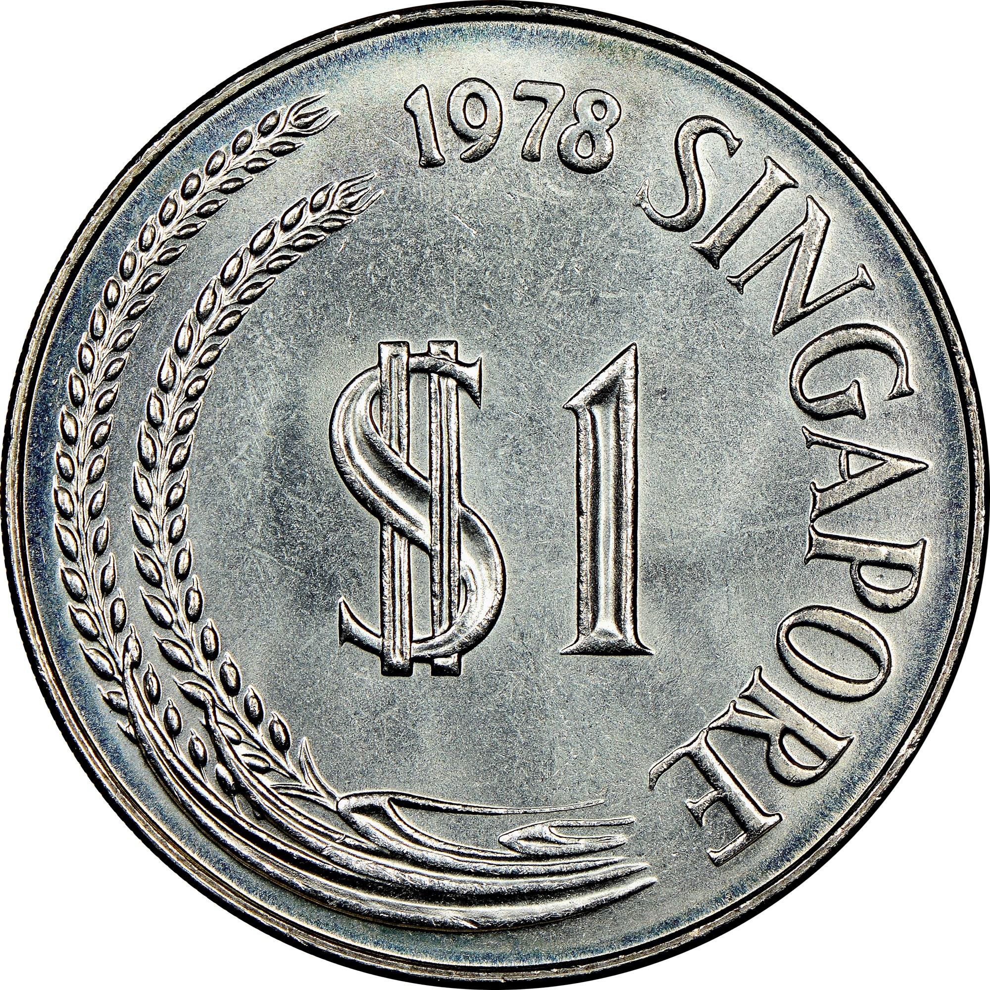 Singapore Dollar obverse
