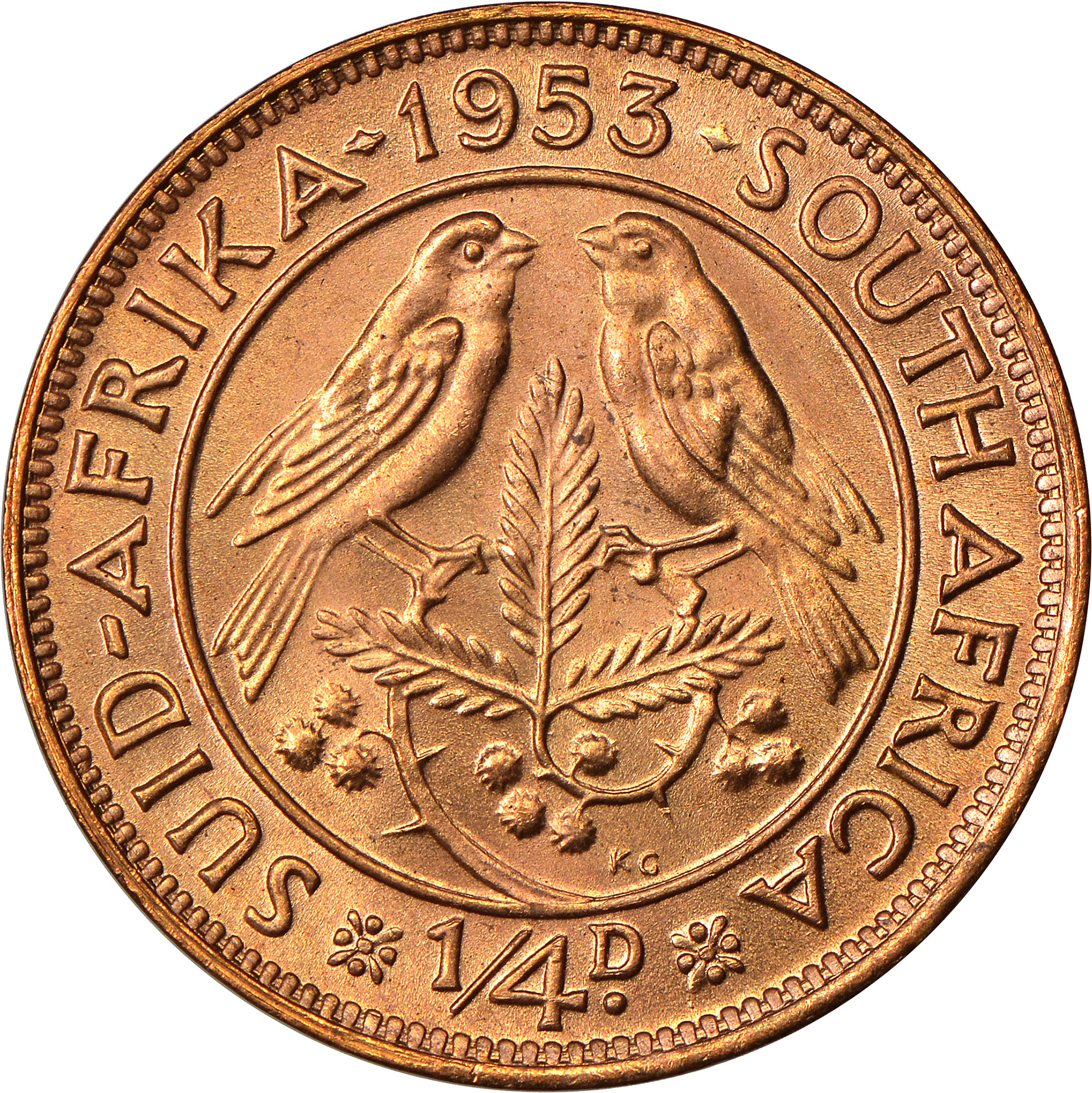 Coin value afrika suid South African