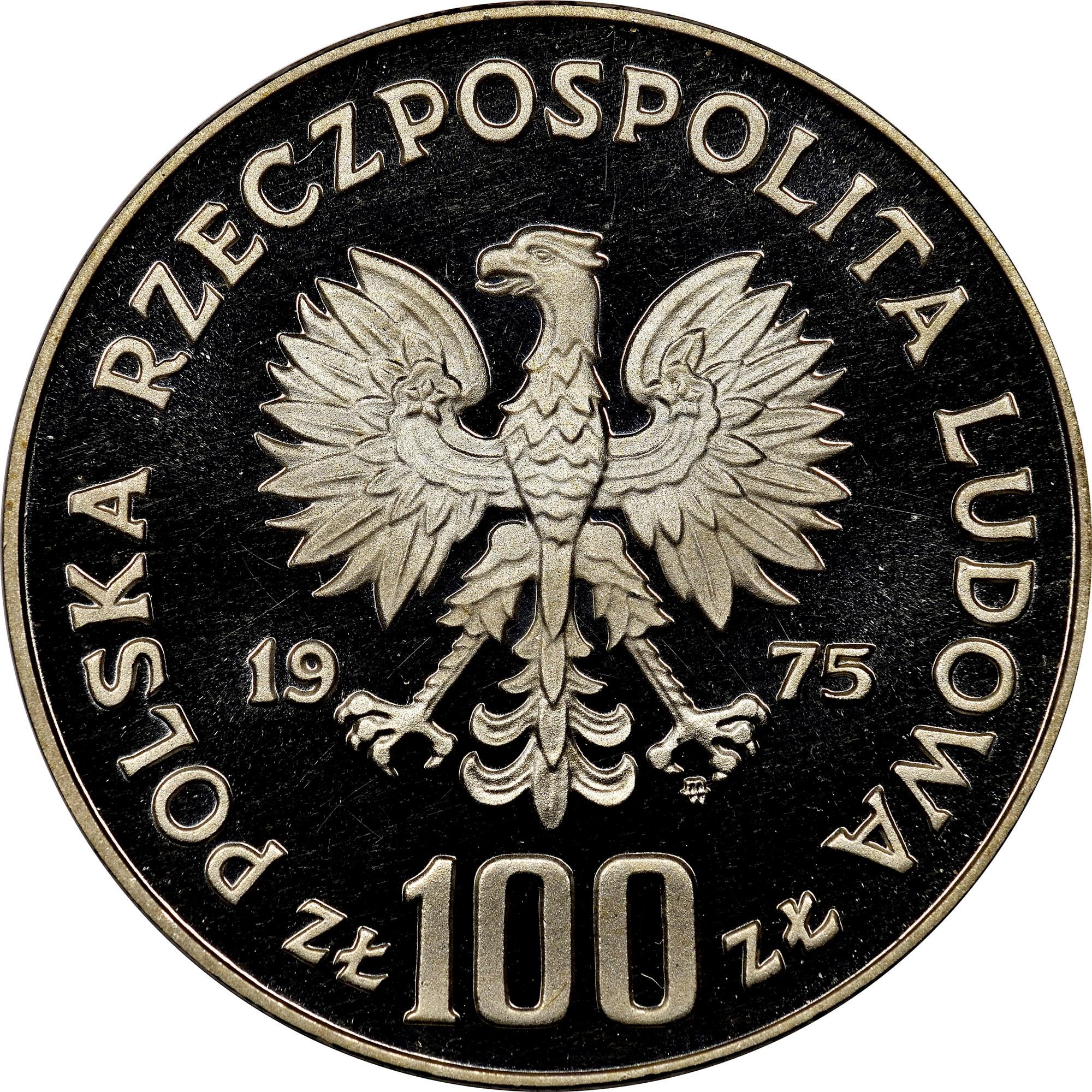 Poland 100 Złotych obverse