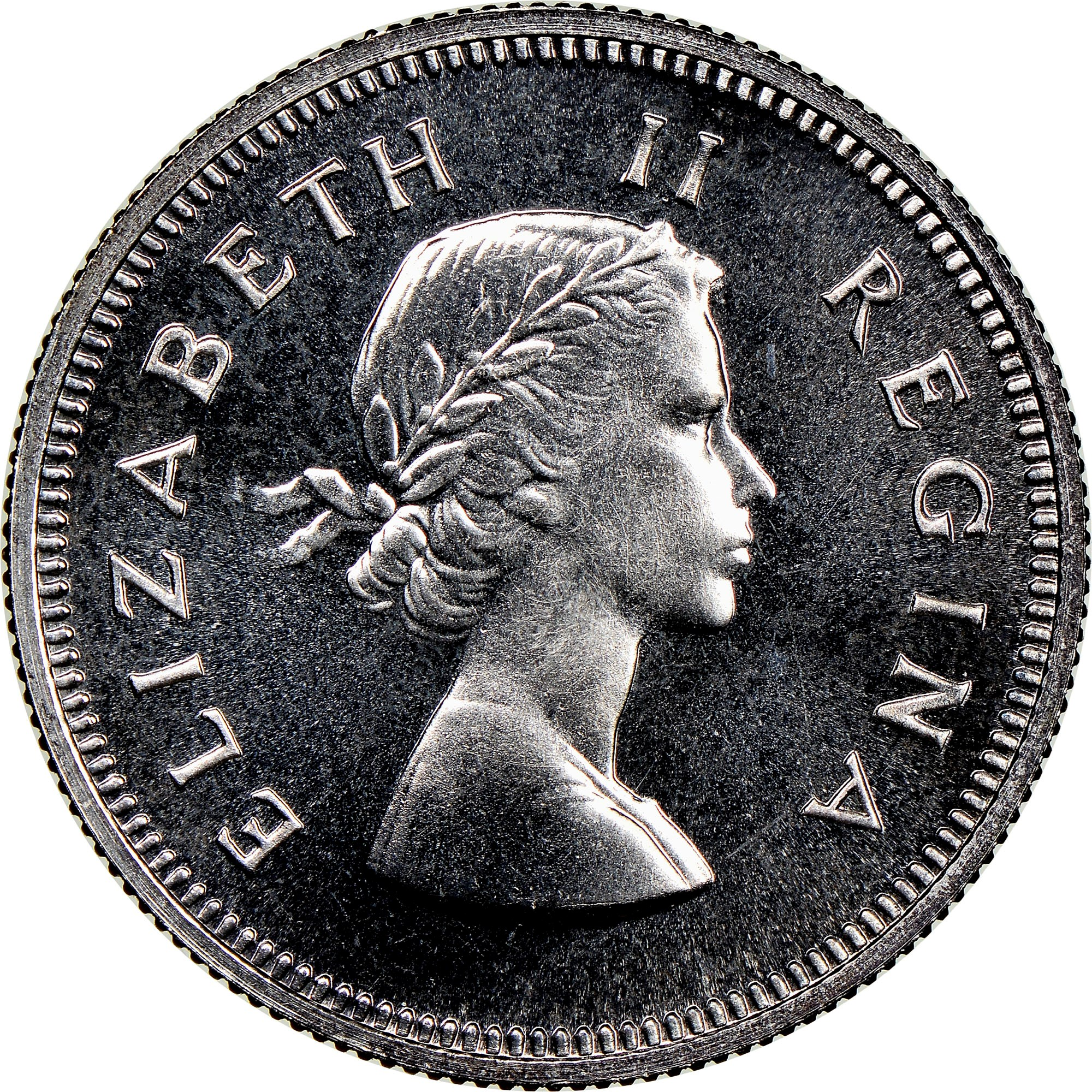 South Africa 2 Shillings obverse