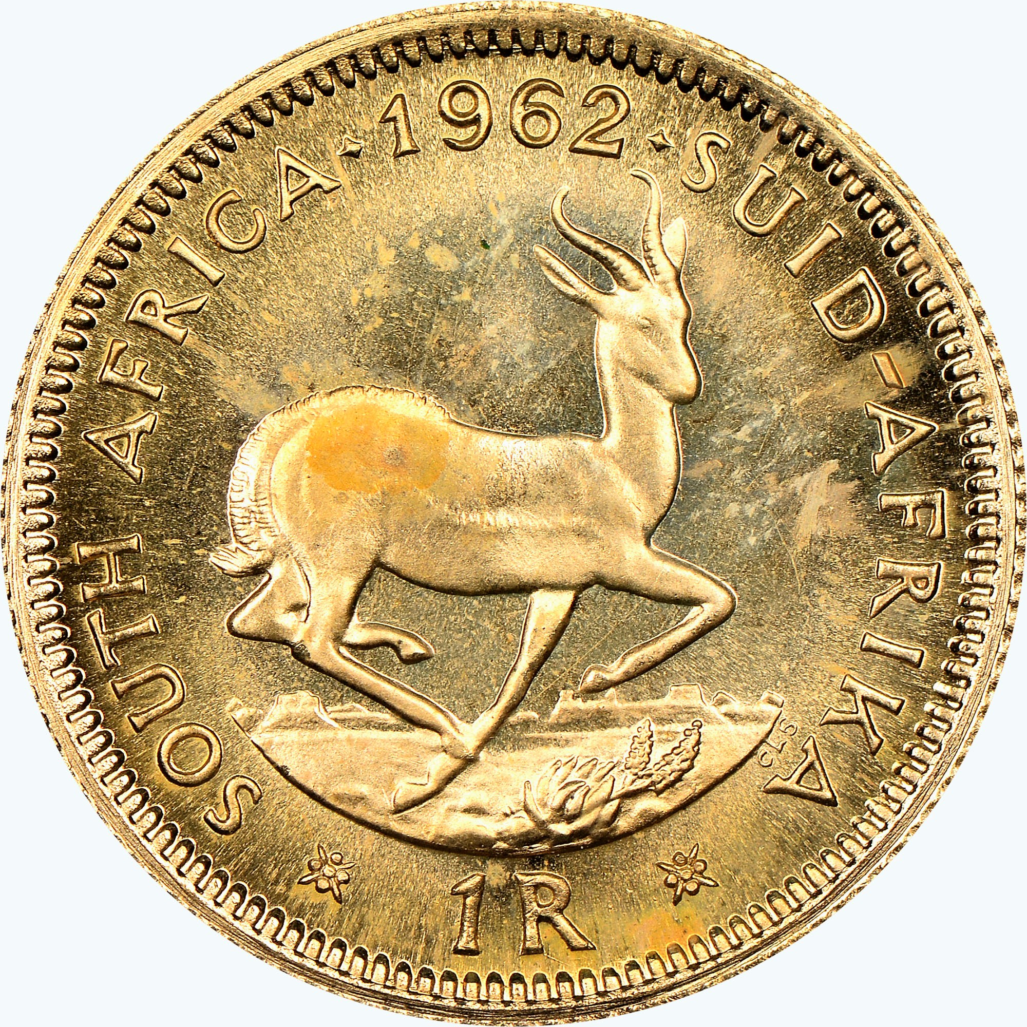 South Africa Rand obverse