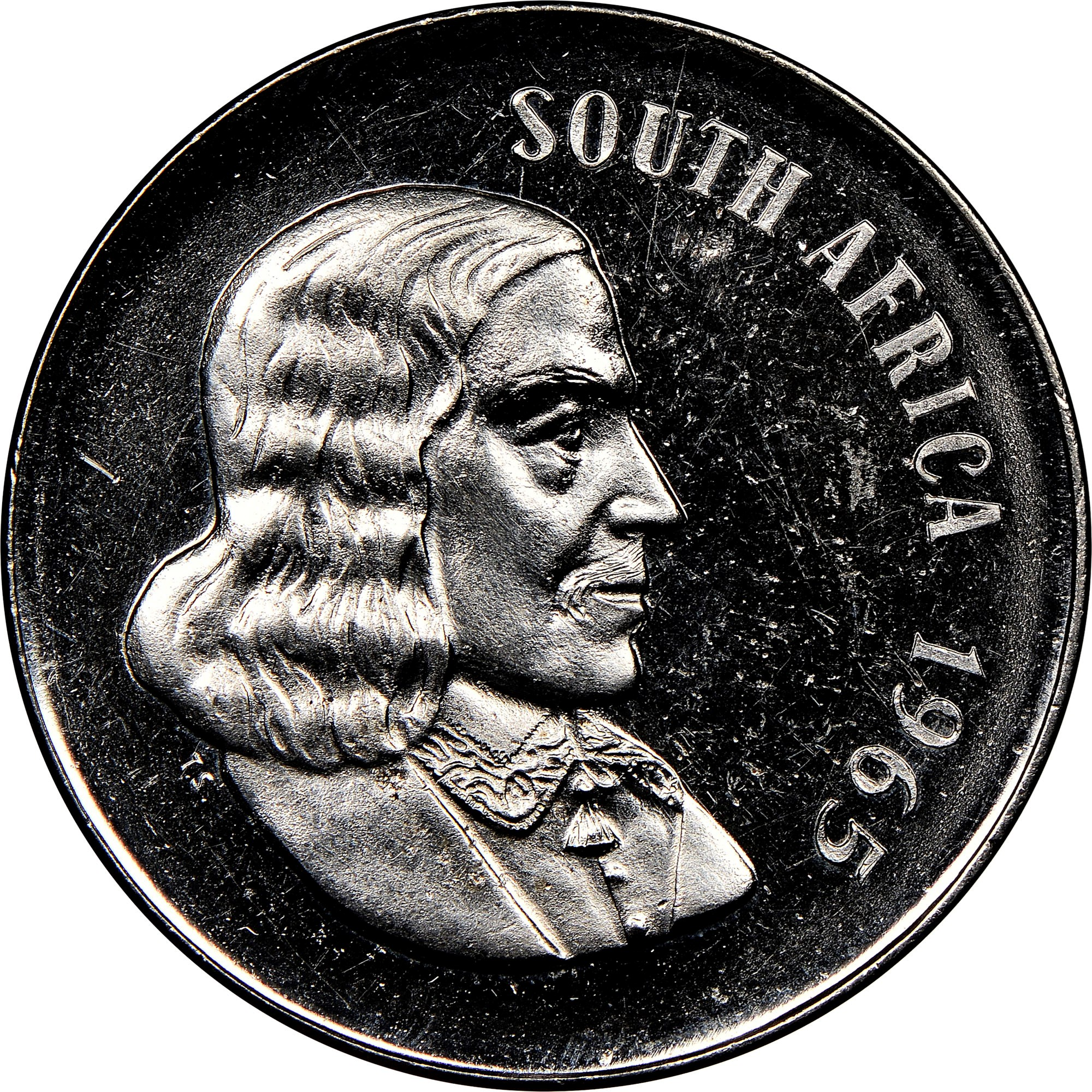 South Africa 50 Cents obverse