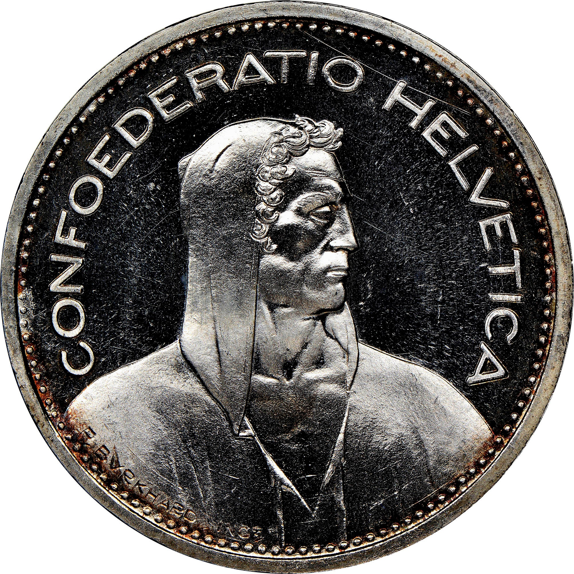 swiss 5 franc coin value