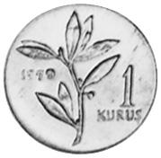 Turkey Kurus reverse