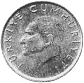 Turkey 10000 Lira obverse
