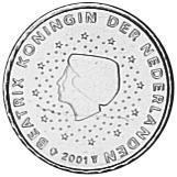 Netherlands 10 Euro Cent obverse
