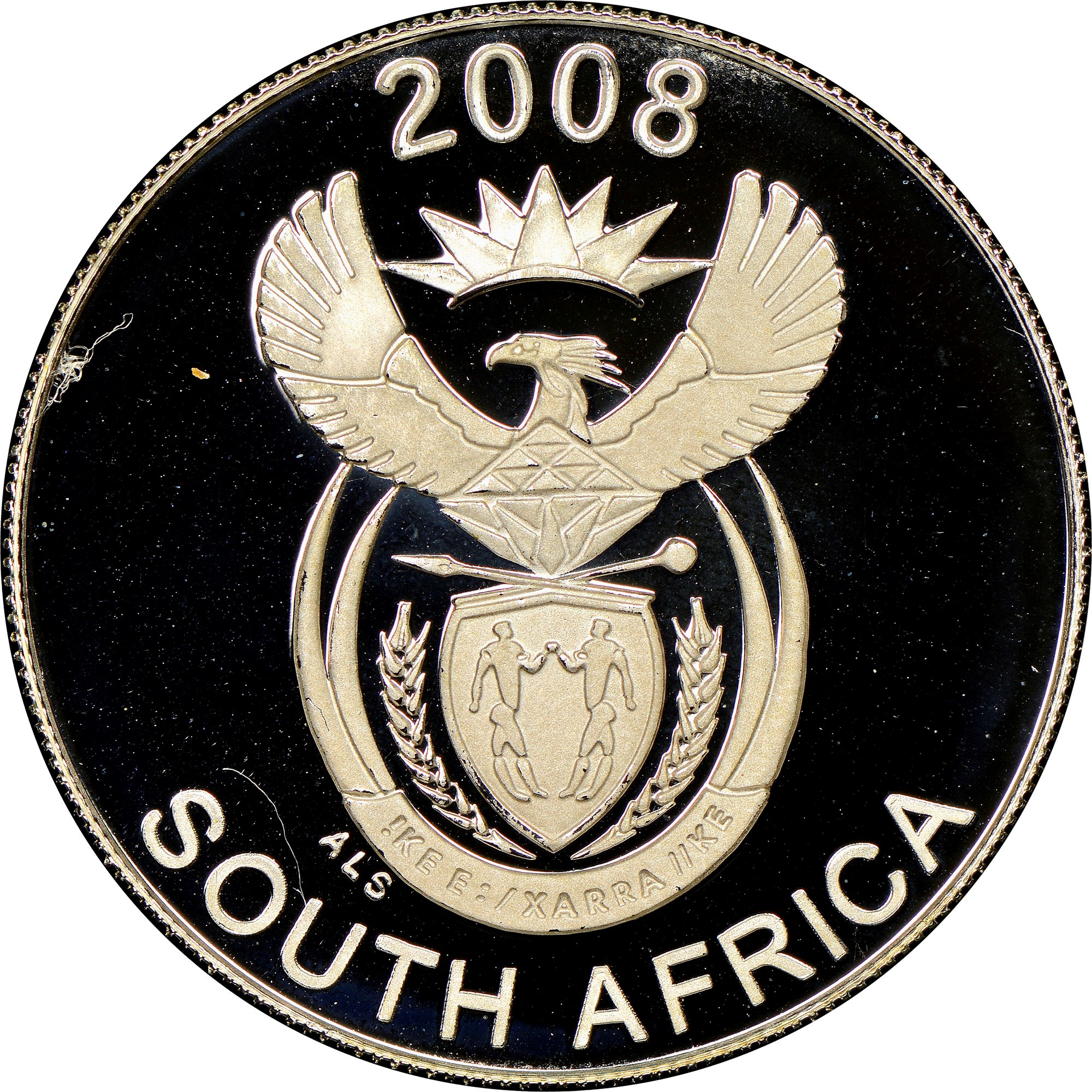 South Africa 10 Cents obverse
