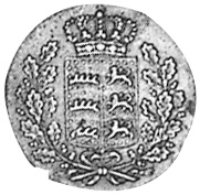 German States WÜRTTEMBERG 1/4 Kreuzer obverse