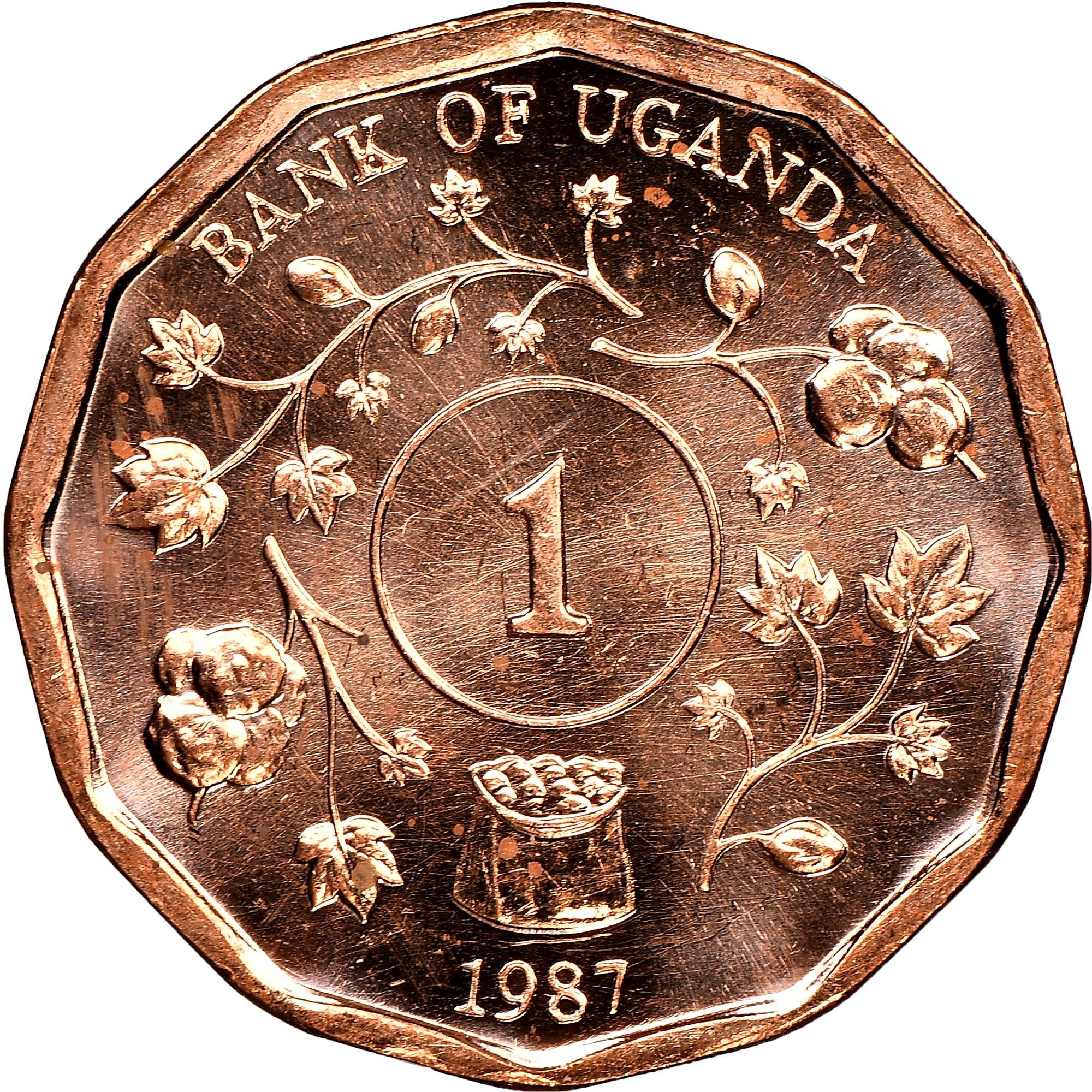 Uganda Shilling reverse