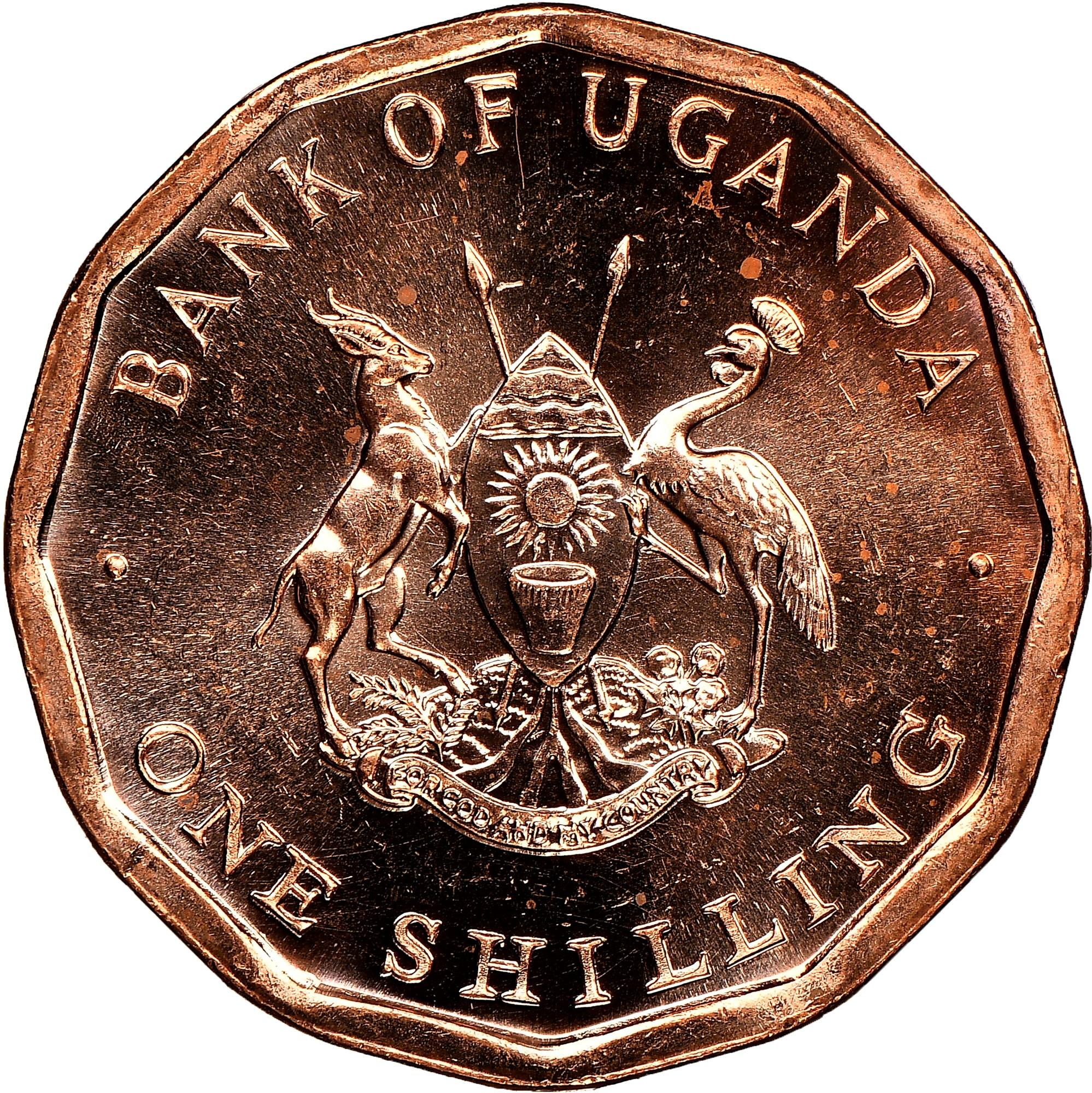 Uganda Shilling obverse