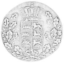 German States WÜRTTEMBERG 1/2 Kreuzer obverse