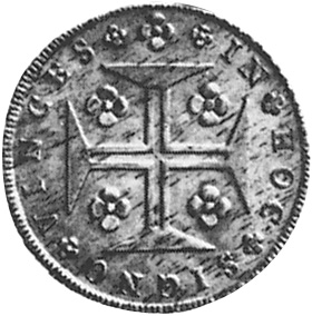 Portugal 120 Reis reverse