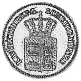 German States WÜRTTEMBERG Kreuzer obverse
