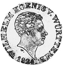 German States WÜRTTEMBERG 12 Kreuzer obverse