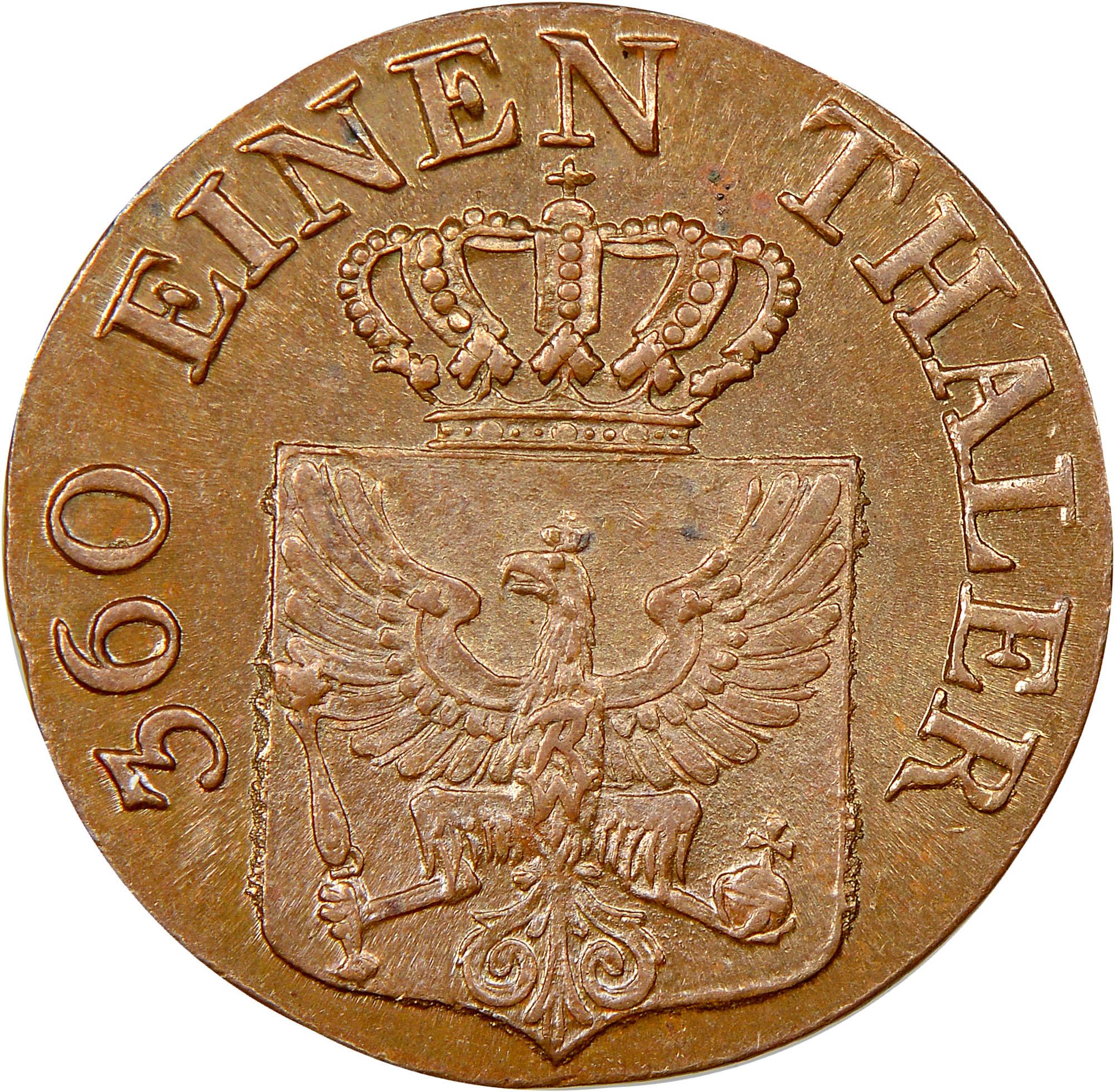 German States PRUSSIA Pfennig obverse