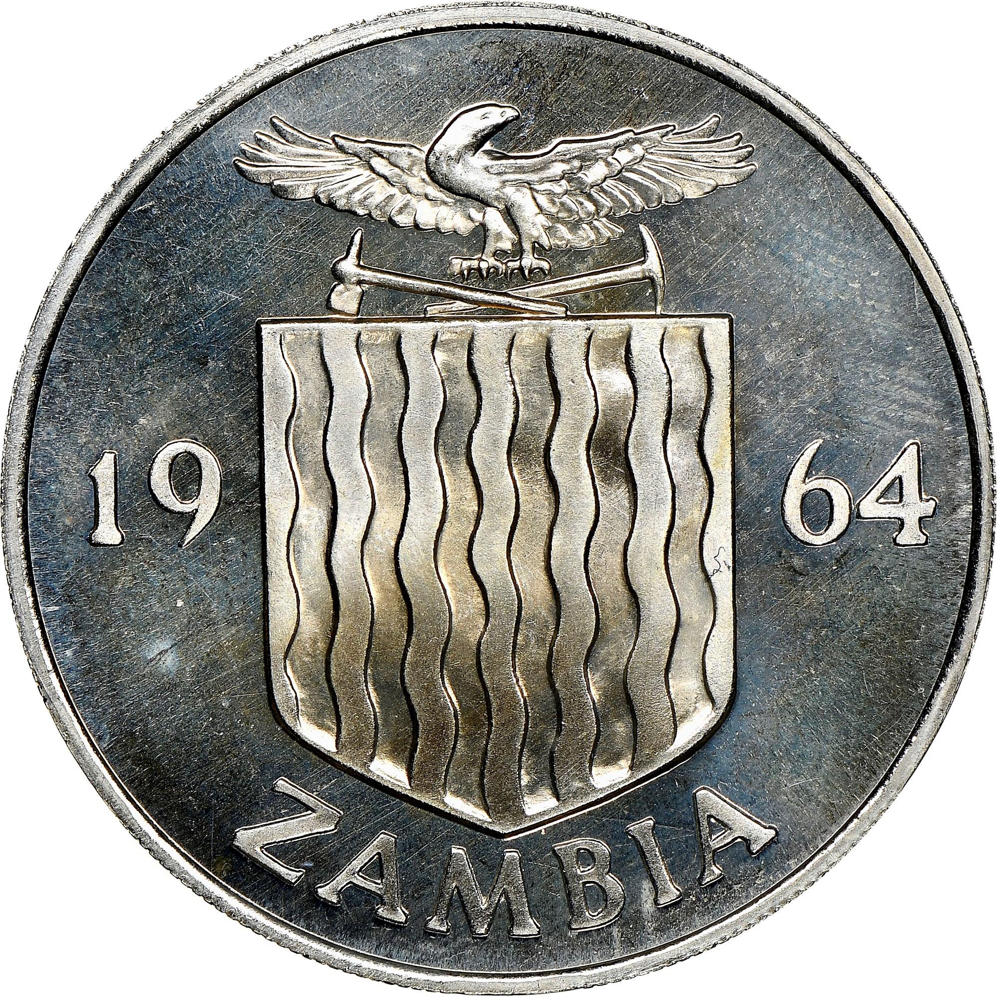 Zambia 2 Shillings obverse