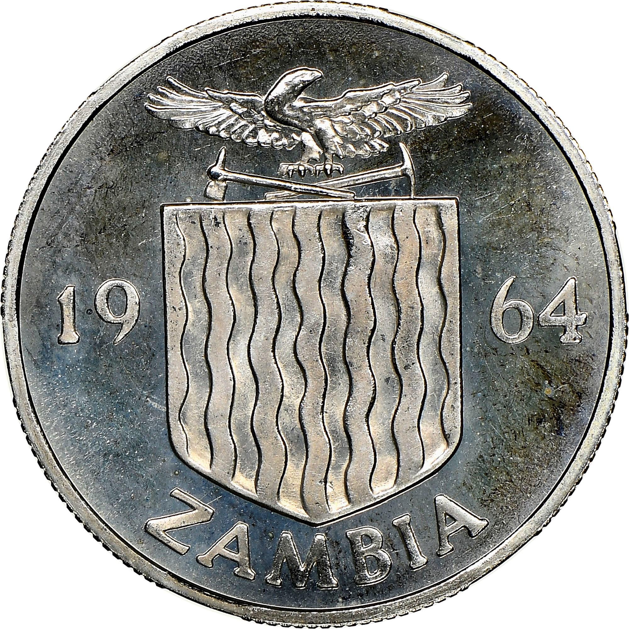 Zambia 6 Pence obverse