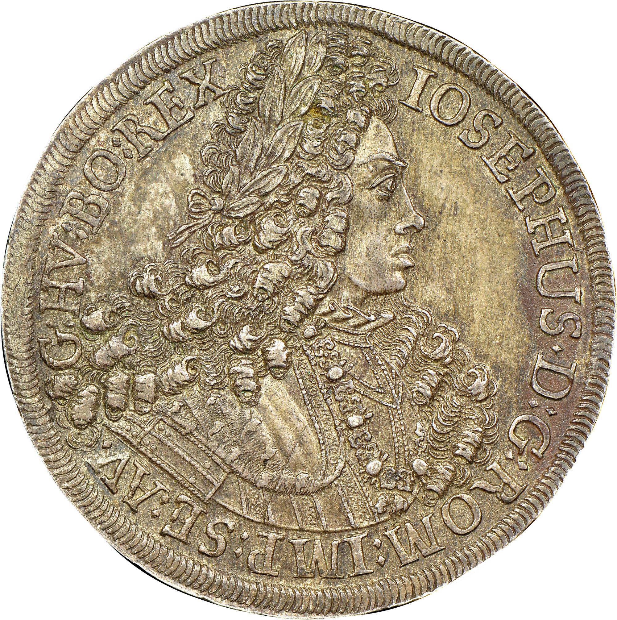 1705-1710/07 Austria Thaler obverse