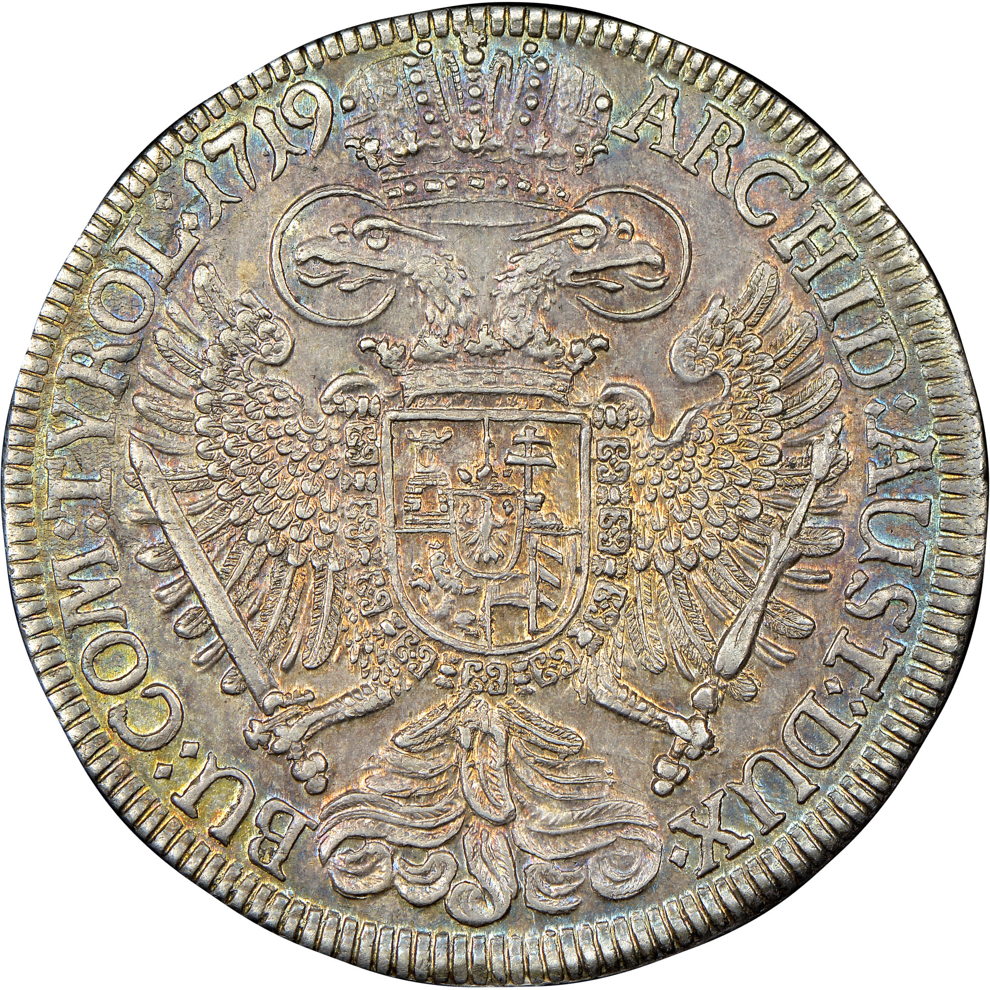 1719-1734 Austria Thaler reverse