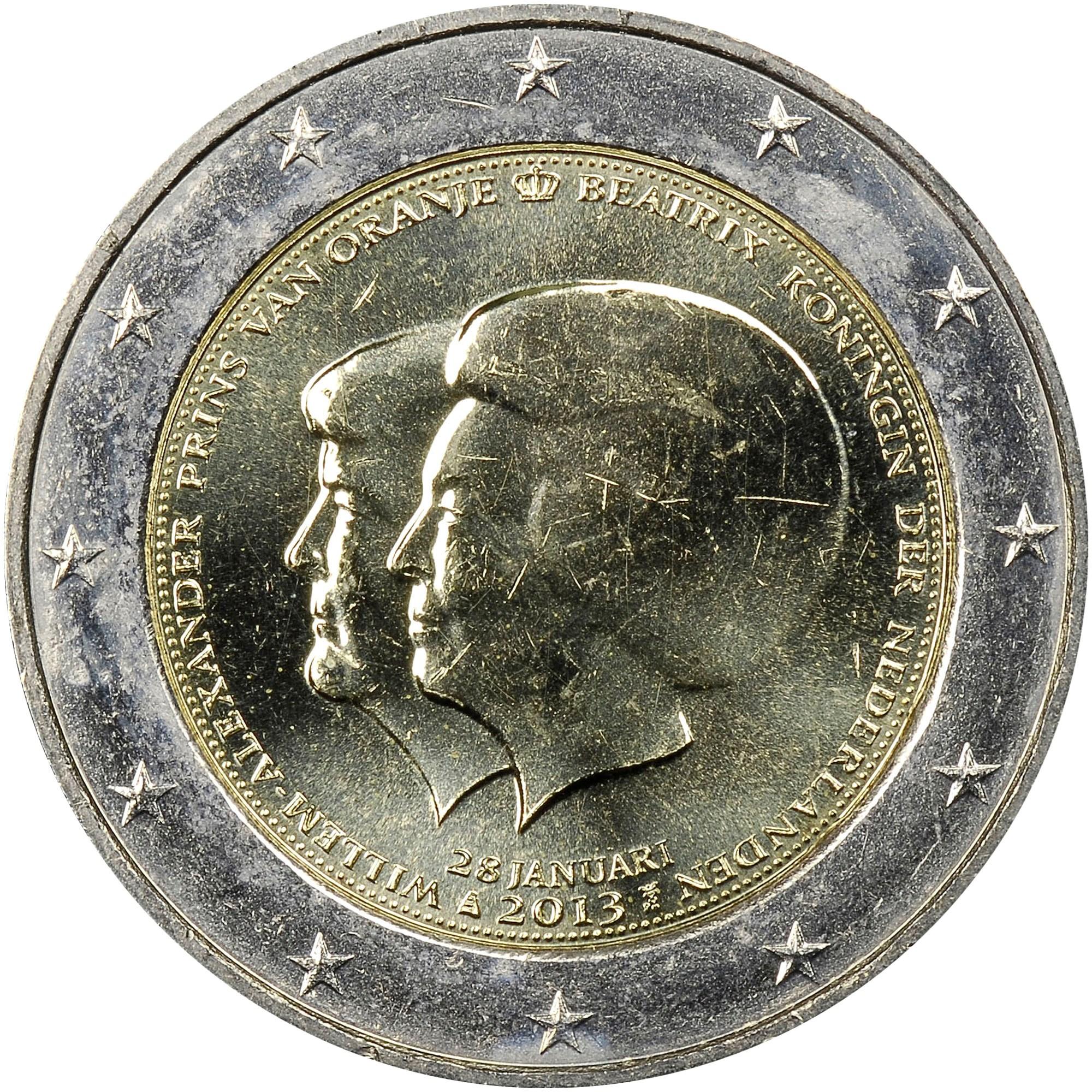 Netherlands 2 Euro obverse