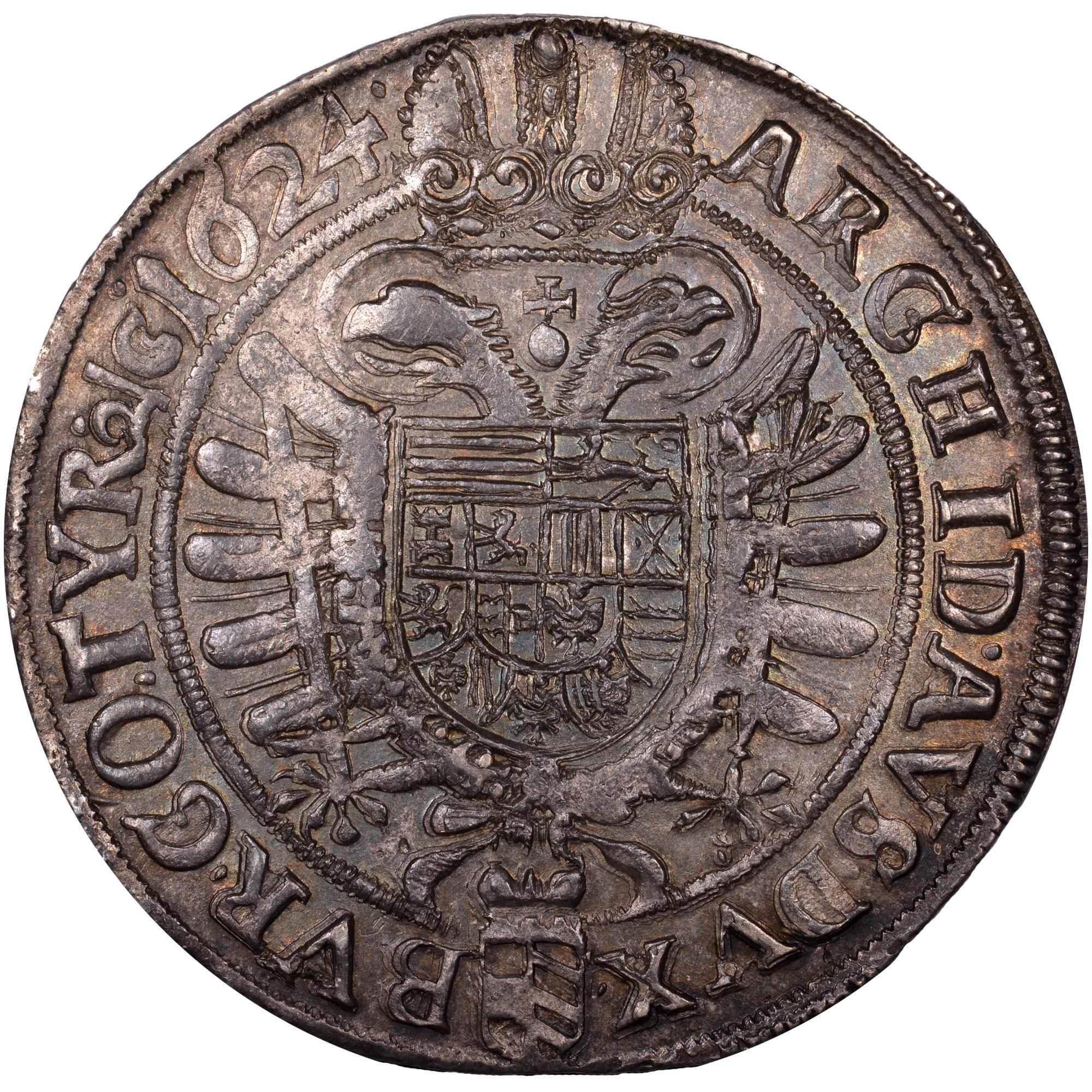 1623-1624 Austria Thaler reverse