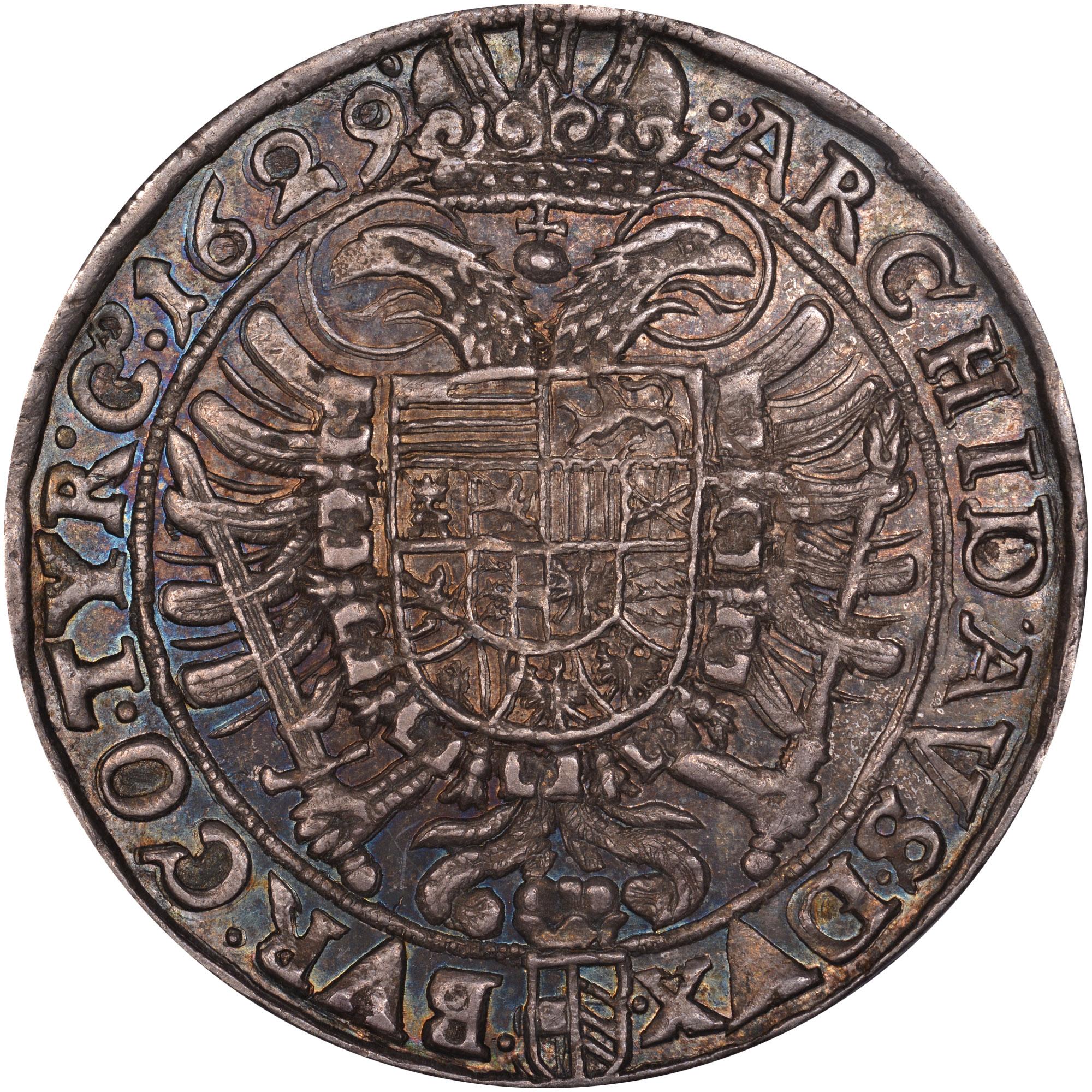 1625-1638 Austria Thaler reverse