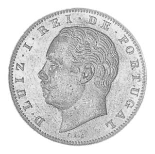 Portugal 10 Reis obverse