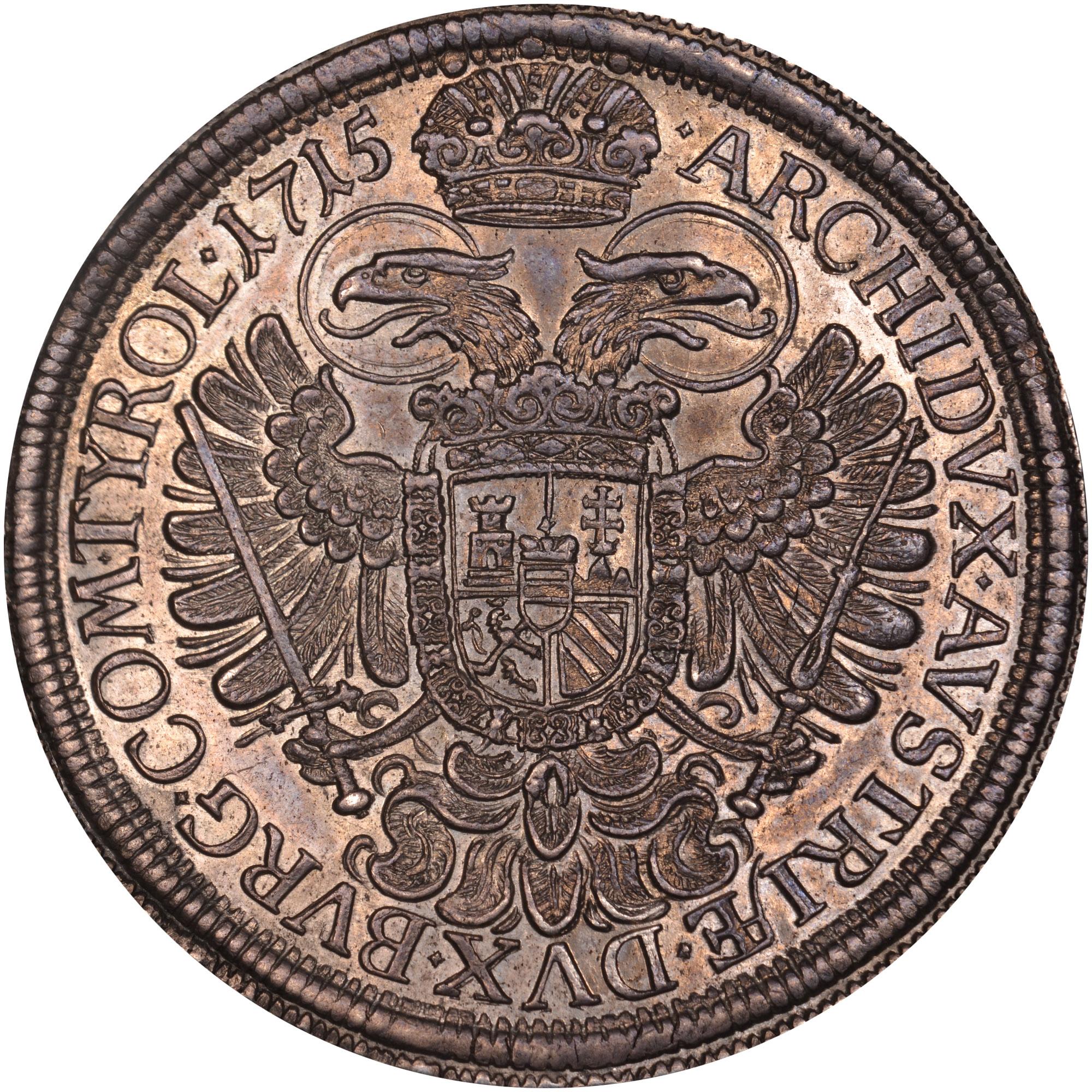 1712-1718 Austria Thaler reverse