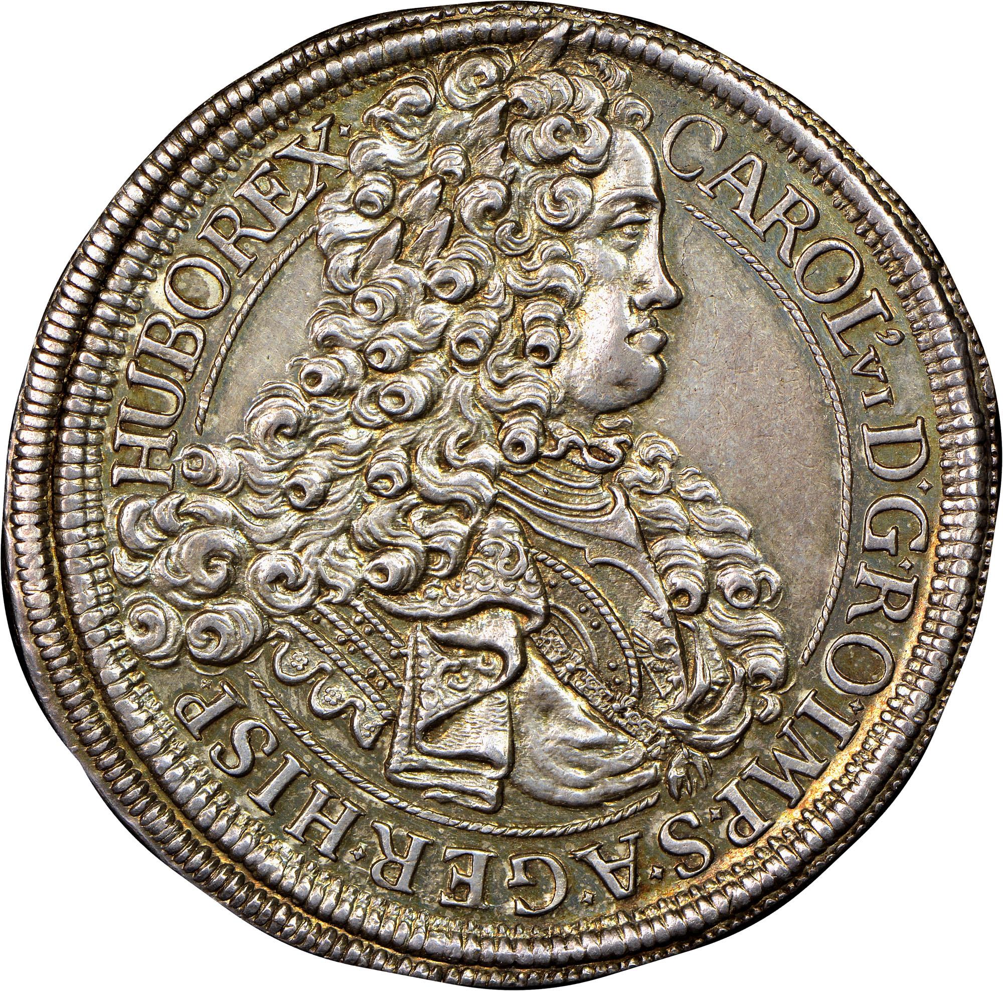 1712-1718 Austria Thaler obverse