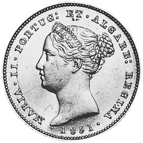 Portugal 5000 Reis obverse