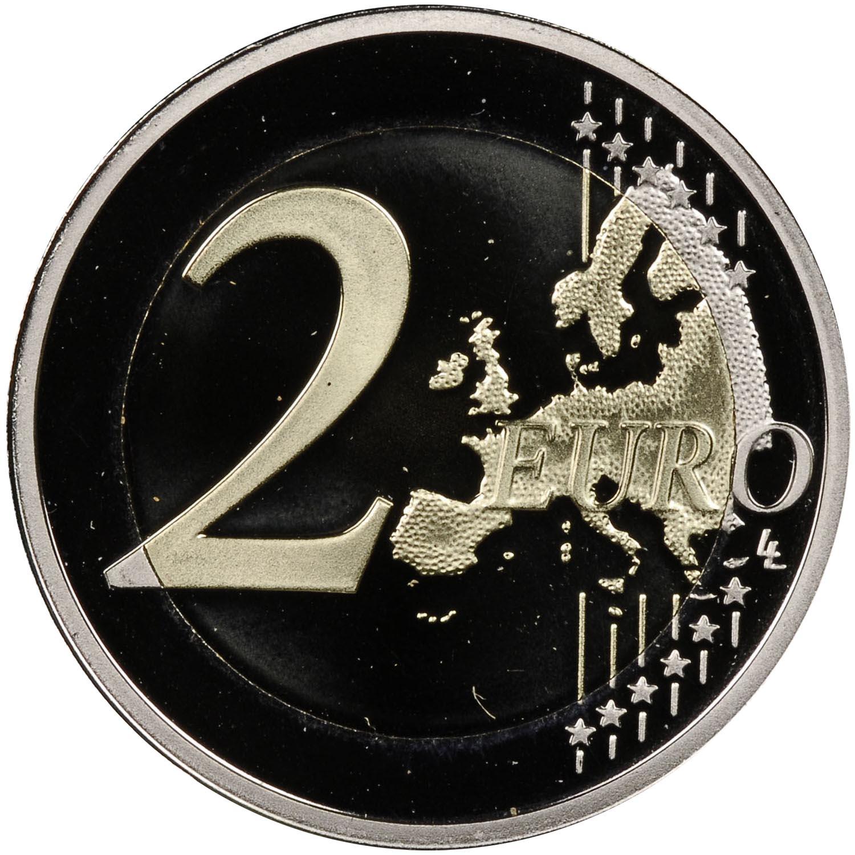 Malta 2 Euro reverse