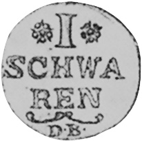 German States BREMEN Schwaren reverse