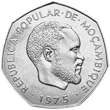 Mozambique 2-1/2 Meticais obverse