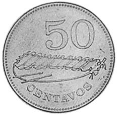 Mozambique 50 Centavos reverse