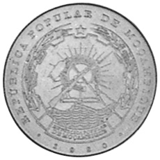 Mozambique 50 Centavos obverse