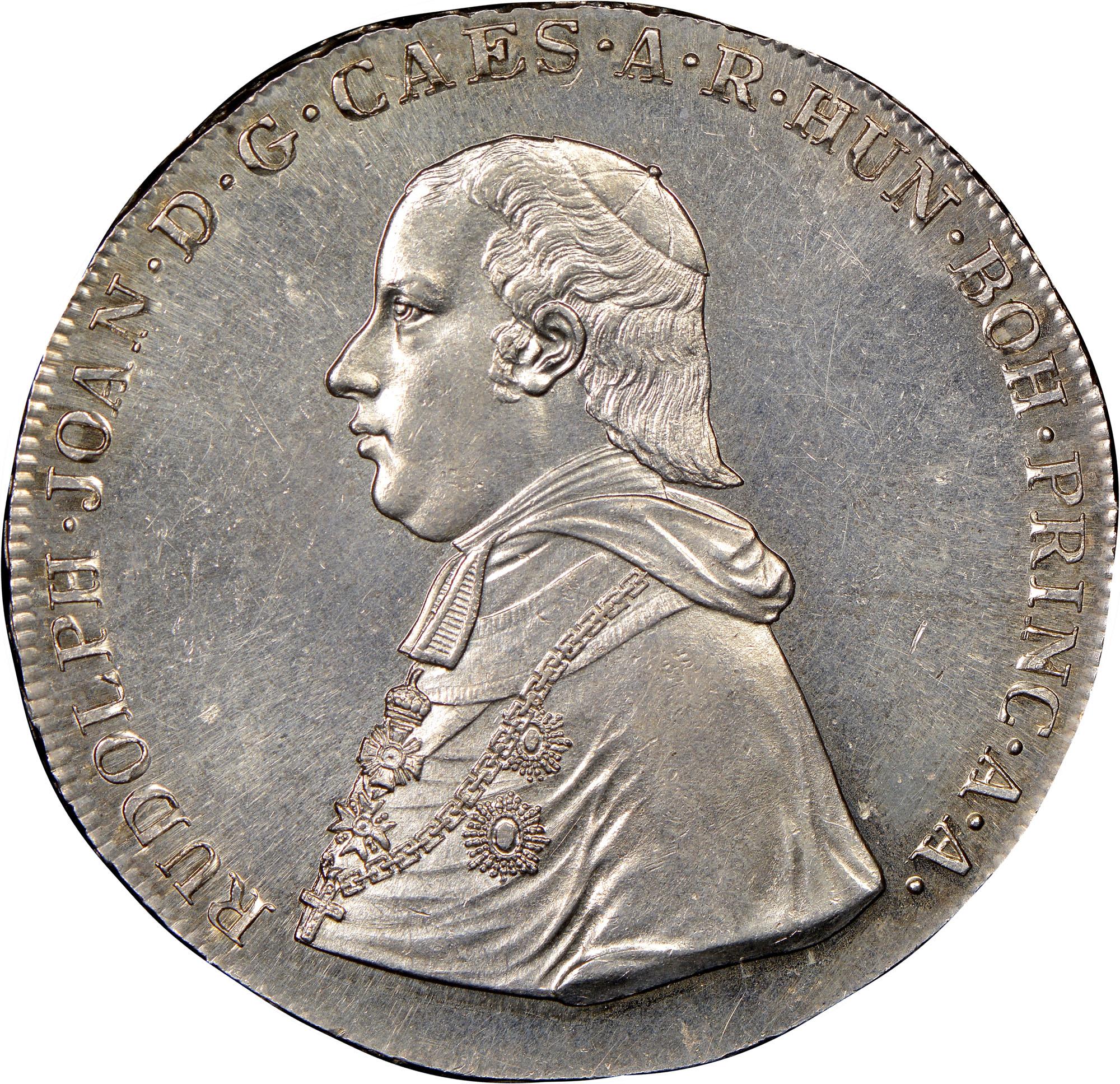 1820 Austrian States OLMUTZ Thaler obverse