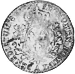 1775-1790 France 12 Sols, 1/10 ECU reverse